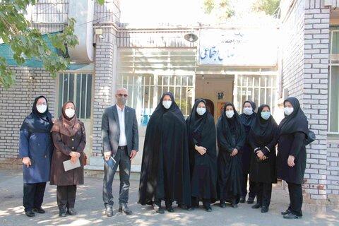 سمنان | گزارش تصویری | بازدید مدیرکل امور بانوان و خانواده استانداری از مرکز مداخله در بحران های اجتماعی