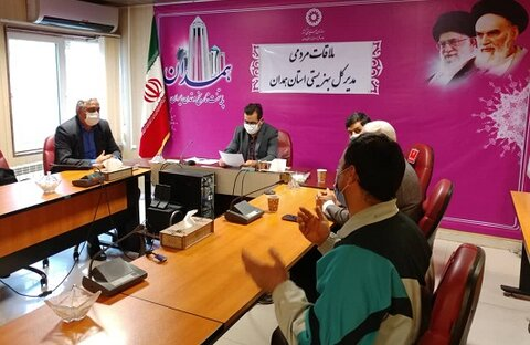 گزارش تصویری|ملاقات مردمی مدیر کل بهزیستی استان