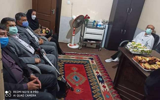 حضور بازرسان دفتر ارزیابی عملکرد و پاسخگویی به شکایات کشور در اصفهان